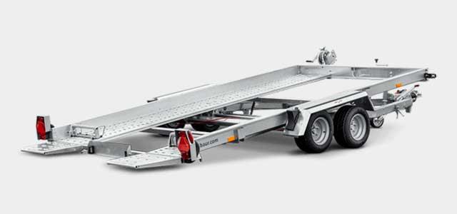 Humbaur HAK autotransporter met kantelbare laadvloer