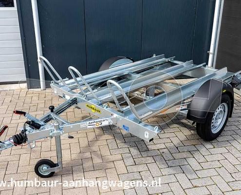 Humbaur HM motortrailer voor 3 motorfietsen